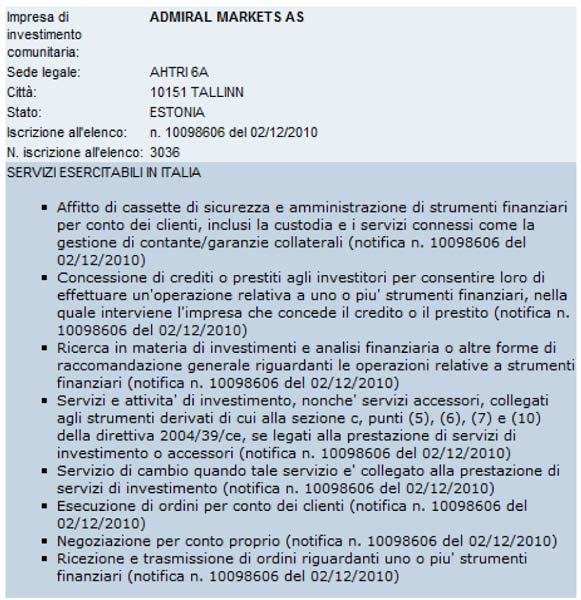 admiral-contratto