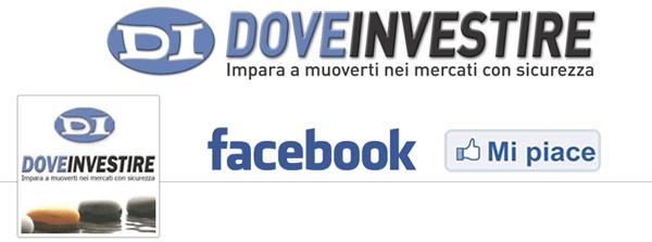dove investire facebook Indice della borsa italiana giù, Euro e Oro stupiscono
