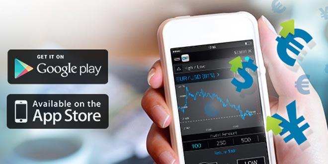 Fare trading con lo smartphone o tablet