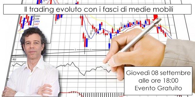 Il trading evoluto con i fasci di medie mobili – Webinar