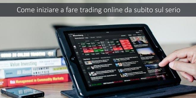 trading online serio