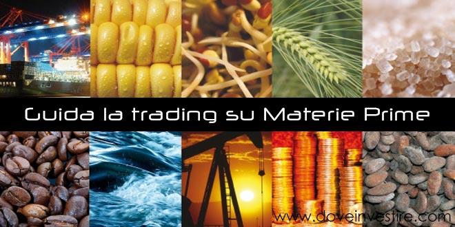 Guida la trading su materie prime