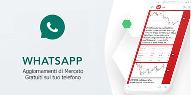 Idee di trading, analisi tecnica, notizie in diretta sul gruppo Whatsapp