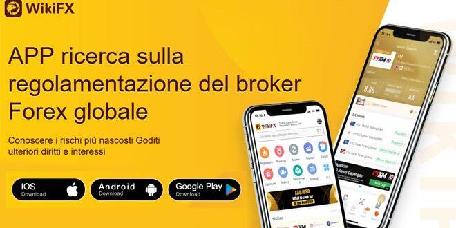 WikiFX. La prima App di ricerca del migliore Broker Forex