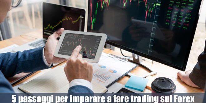 5 passaggi fondamentali per imparare a fare trading sul Forex
